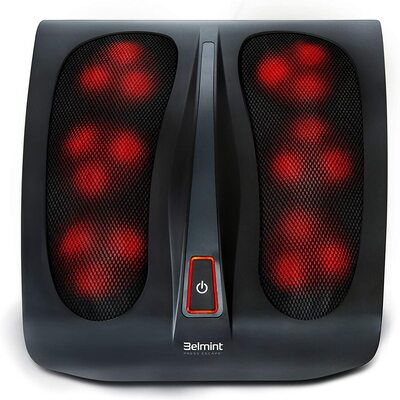 Foot Massager Canada - Belmint Shiatsu Foot Massager Machine with Heat